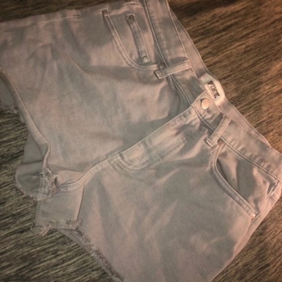 PINK Victoria's Secret Pants - VS pink jean shorts